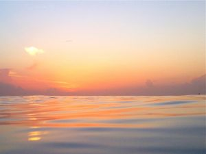 July 2 - Quiet ocean dawn breaks..jpg
